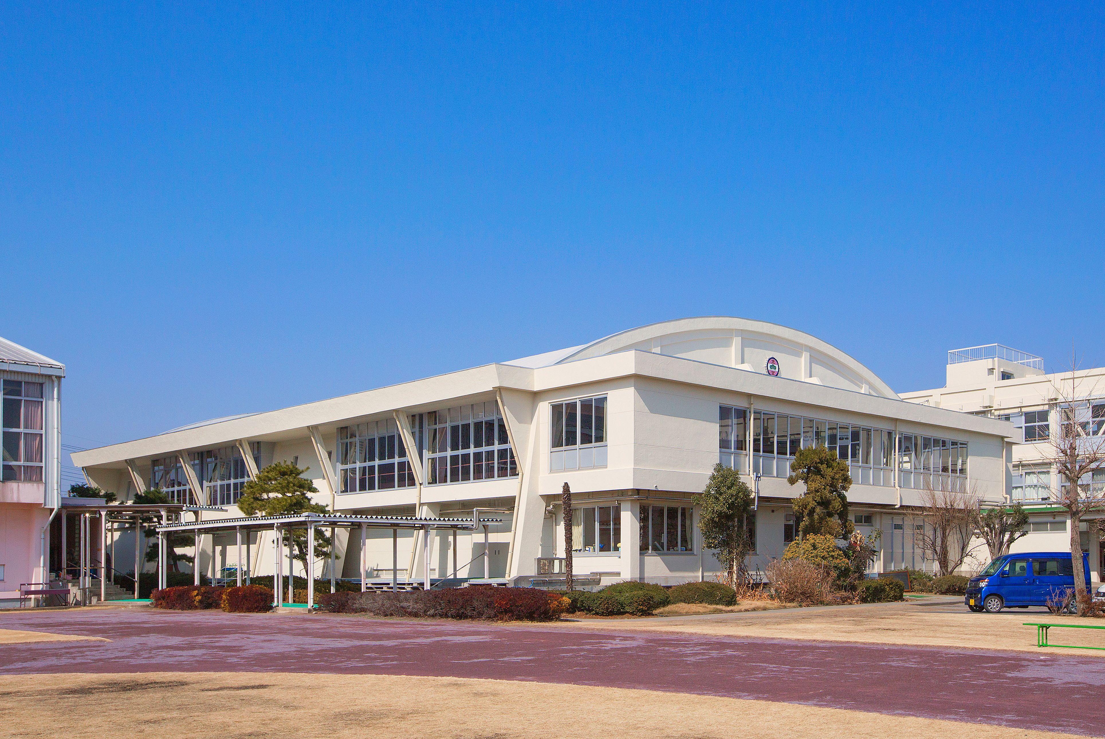 県立太田女子高校体育館耐震