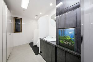 4Fフロアトイレ水槽